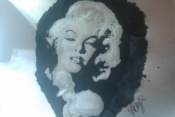 Marilyn Monroe par tikkileo